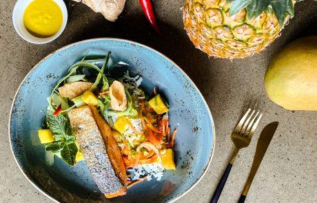 StadtGeschmack Rezept Leckerster Lachs mit Teriyaki Sauce