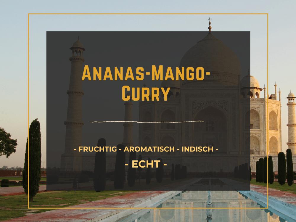 StadtGeschmack Produkt Ananas-Mango-Curry