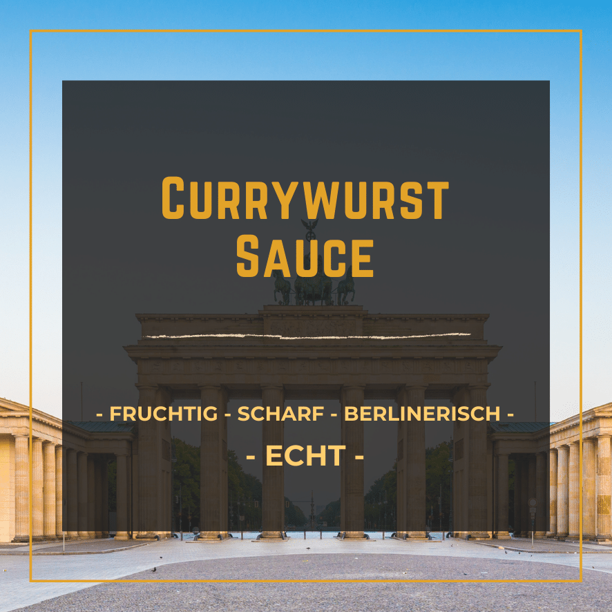 StadtGeschmack Slider Currywurst Sauce
